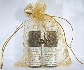 The three wise men Gold organza gift bag,