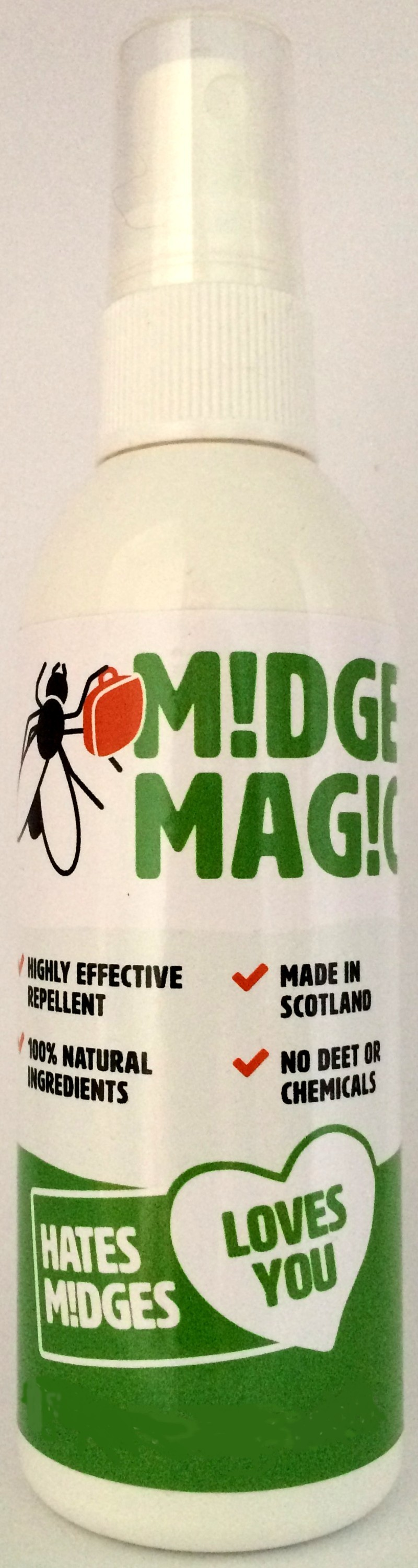 White Large Totally Herby Midge Netting
